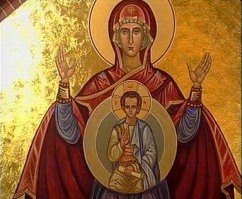 Allholy MOTHER of GOD with our Saviour